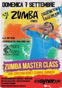 Zumba Master Class Synergym Versilia