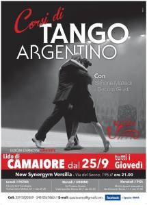 corsi tango argentino synergym