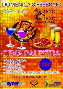 Cena palestra 8 febbraio 2015 Mora Mora