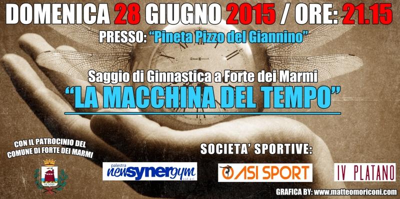 cartellone saggio ginnastica forte dei marmi Synergym 2015