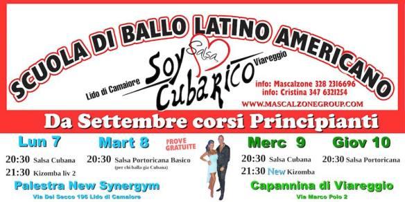 Scuola di ballo latino americano Soy Cubarico corsi 2015