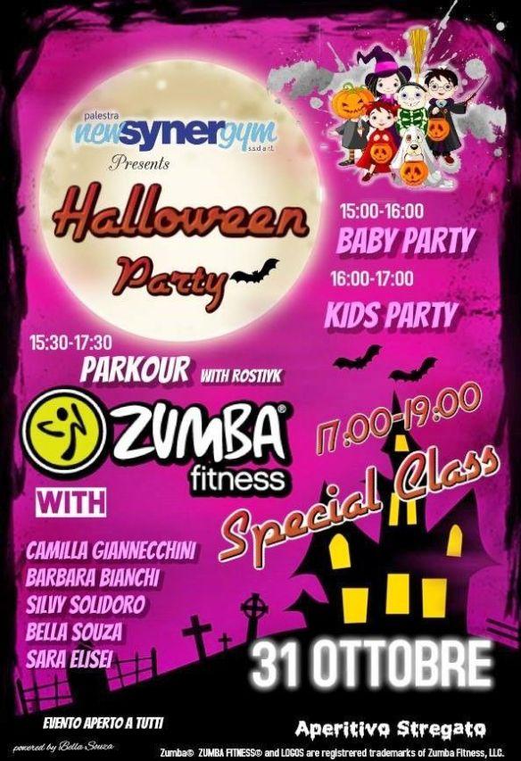 Halloween Party Synergym Lido di Camaiore Camilla Giannecchini Silvy Solidoro Bella Souza Parkour