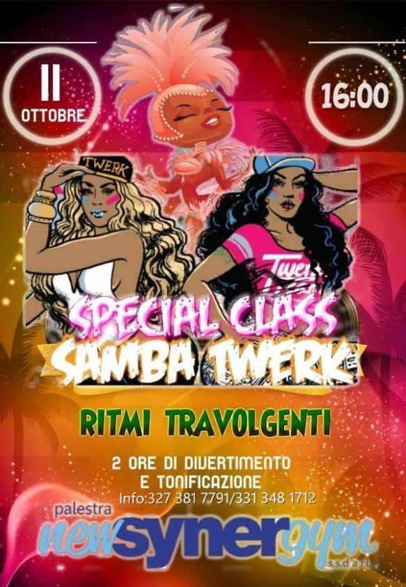 Samba Twerk special class
