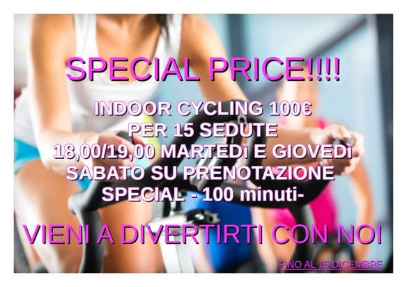 Special Price Indoor Cycling Synergym Versilia
